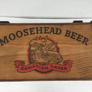 Moosehead Beer Dovetailed Box Crate Advertising